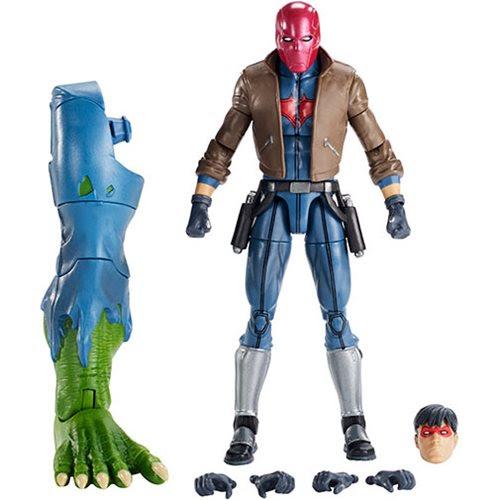 Image of DC Multiverse Wave 12 - Jason Todd Red Hood Action Figure (BAF Killer Croc)