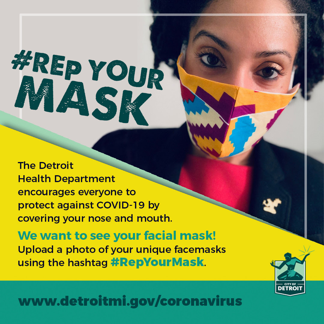 COVID Rep Your Mask