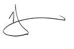 Harry Dent's signature