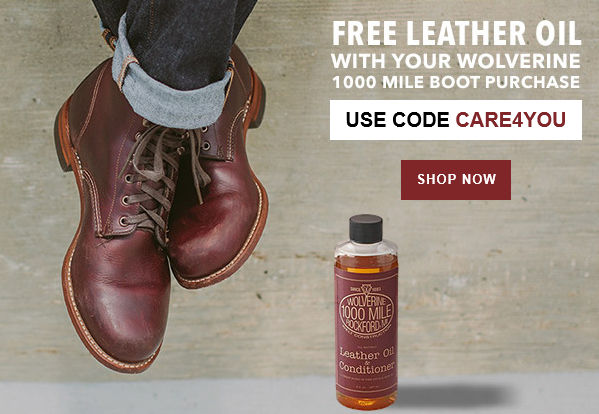 FREE Leather oil with all 1000...
