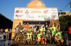 Bianchini Rally faz a festa na rampa de chegada em Bonito (MS) (Magnus Torquato/Fotop)