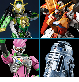 New Bandai Spirits