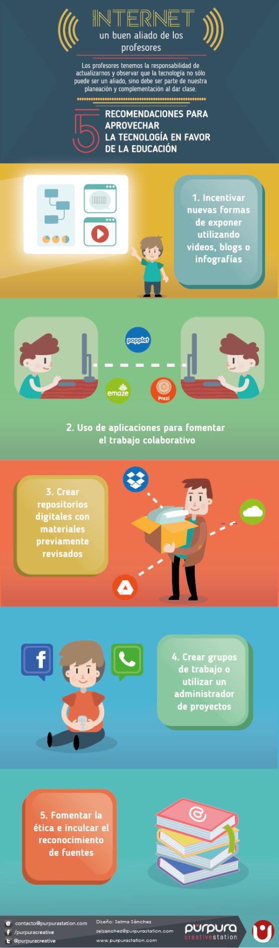 5 recomendaciones para usar Internet en Educación