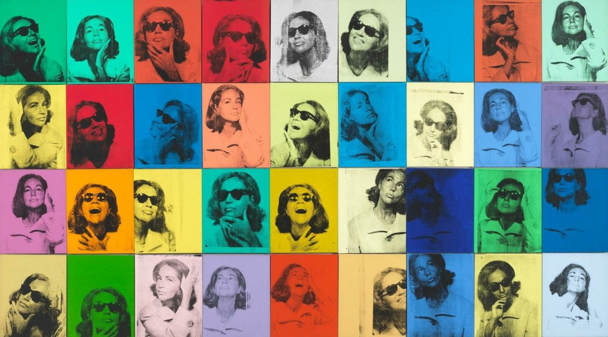 Andy Warhol, Ethel Scull 36 Times, 1963.