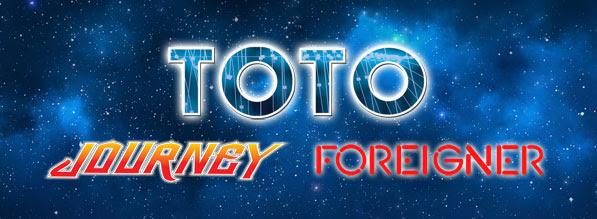 Toto, Journey et Foreigner en live chez Eagle Vision