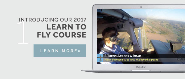 Introducing our 2017 Learn to Fly Course