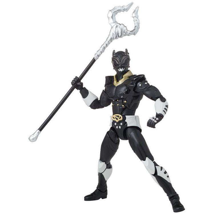"Image of Power Rangers in Space Legacy 6"" Psycho Black Ranger"