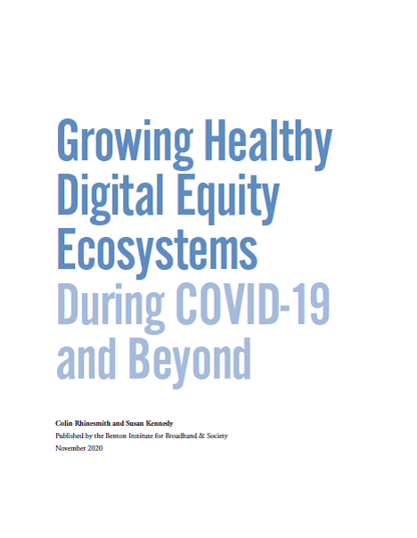 Growing Healthy Digital Equity Ecosystems During COVID-19 and Beyond