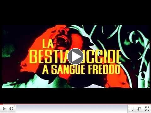 SLAUGHTER HOTEL (La Bestia Uccide a Sangue Freddo) original Italian Theatrical Trailer