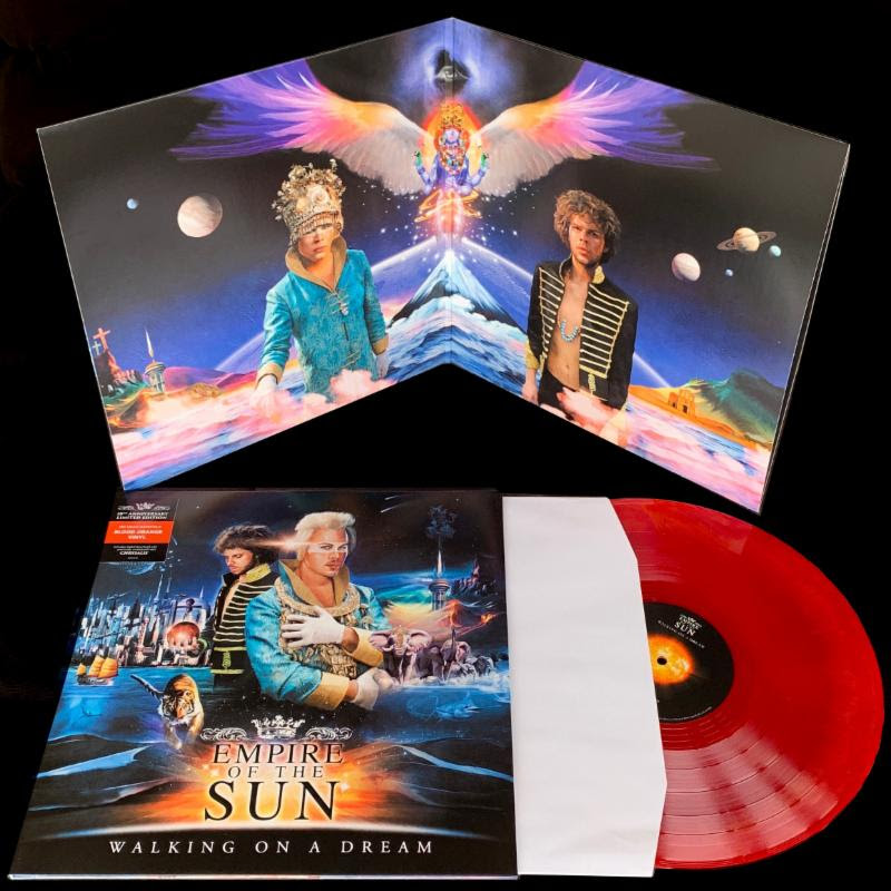 Empire Of The Sun's electronic dance music album Walking on a Dream on Astralwerks featuring Chrysalis