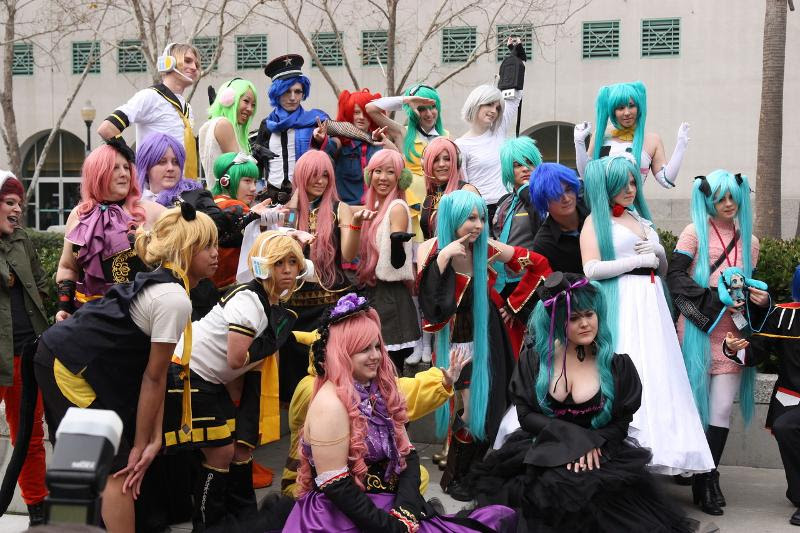 Vocaloid Gathering at SacAnime Winter 2013