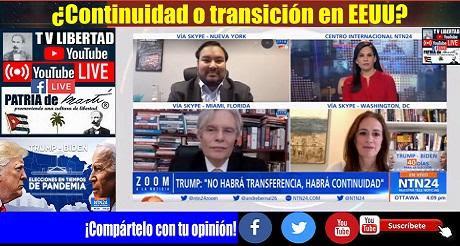 ¿Continuidad o transición en EEUU? Debate