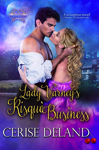 Cover for 'Lady Varney's Risqué Business'