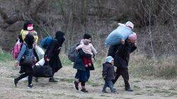 Refugiados de Siria.