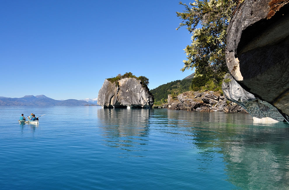 get out and explore Marble wonders on Chile side of Lake General Carrera