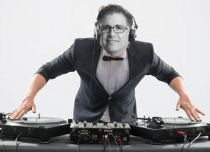 Greg as DJ
