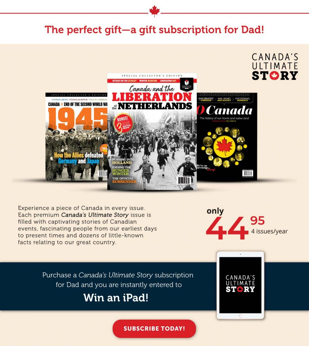 Gift Subscription for Dad
