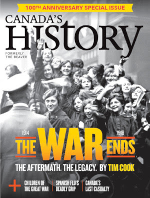 October-November issue: The War Ends