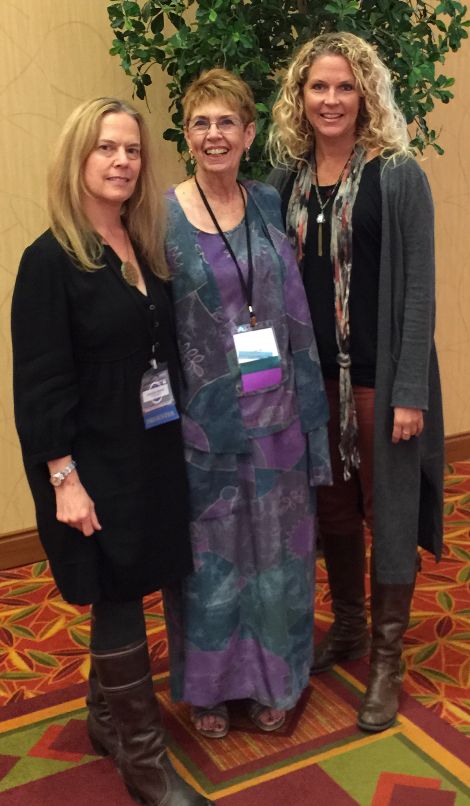 Catherine, Linda, and Kimmy at CAGT