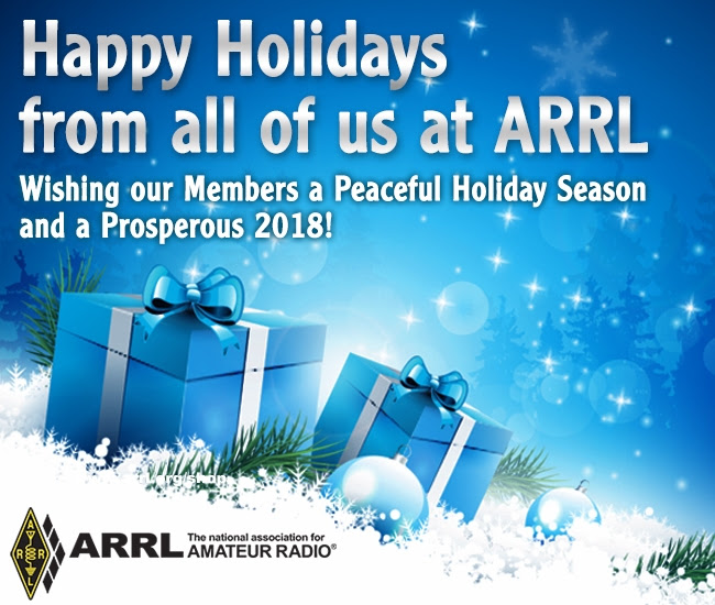Happy Holidays from ARRL