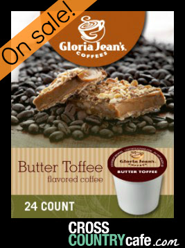 Butter Toffer Keurig K-cup coffee