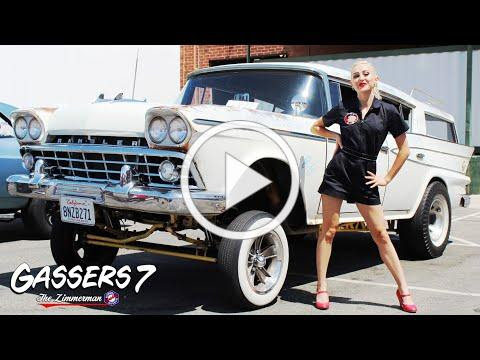 WARNING: Burnouts, Fast Hot Rods & American Muscle at Gassers 7 Rev Fest.