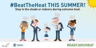 #BeatTheHeat This Summer