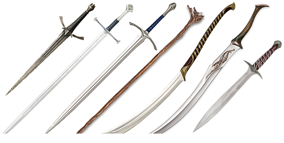 Hobbit and LotR Replica Weapons