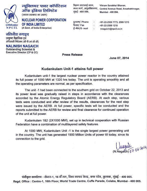 Full Power News 2014 June 7