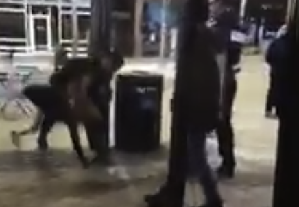 Cop Slams 100 lb Woman in Heels and Party Dress Face First to the Ground (Video)