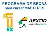 Becas para Masteres en la Universidad de Extremadura