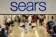 A sears store in Salem, N.H. Sears shares have lost nearly 90 percent of their value since 2007.