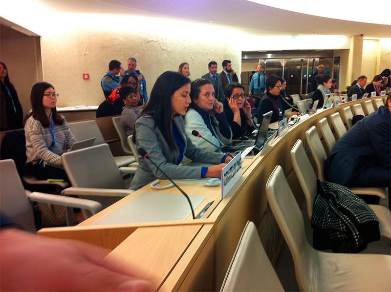 Rosa María Payá interviene en el Consejo de Derechos humanos de la ONU en Ginebra