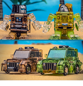 Third Party Transforming Toys & Accessories