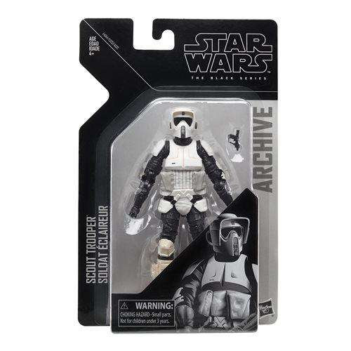 Image of Star Wars The Black Series Archive Action Figures Wave 2 - Biker Scout