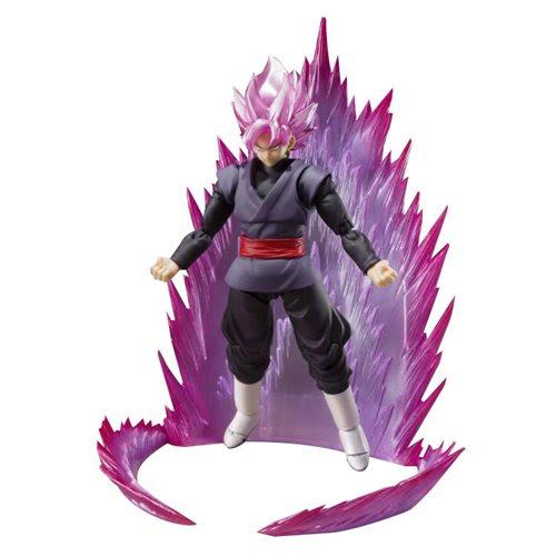 Image of Dragon Ball Super: Super Saiyan Rose Goku Black SH Figuarts Action Figure - SDCC 2019 Exclusive