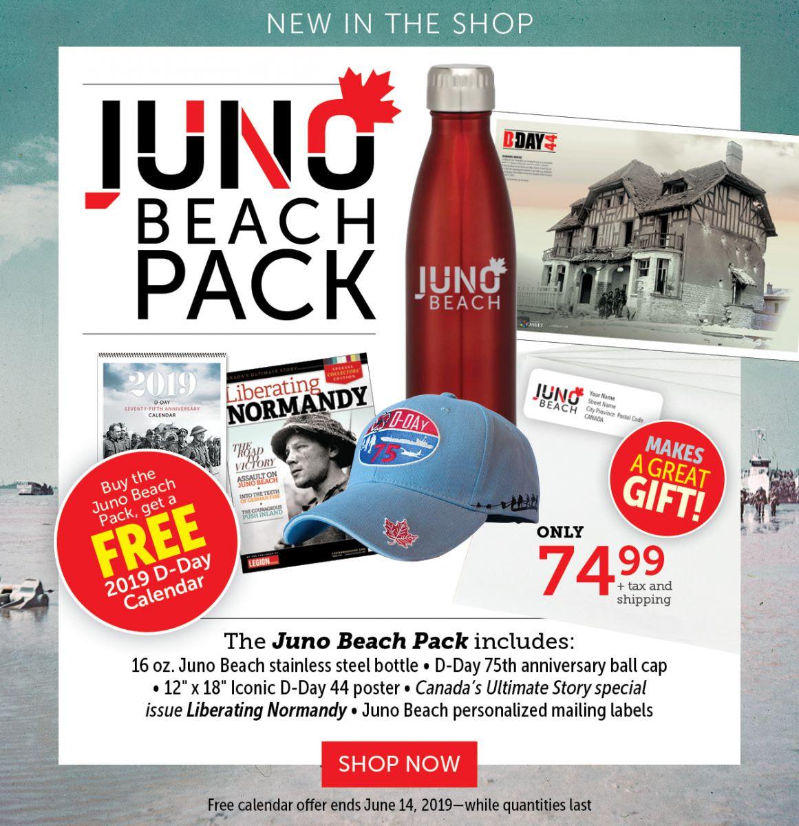 Juno Beach Pack