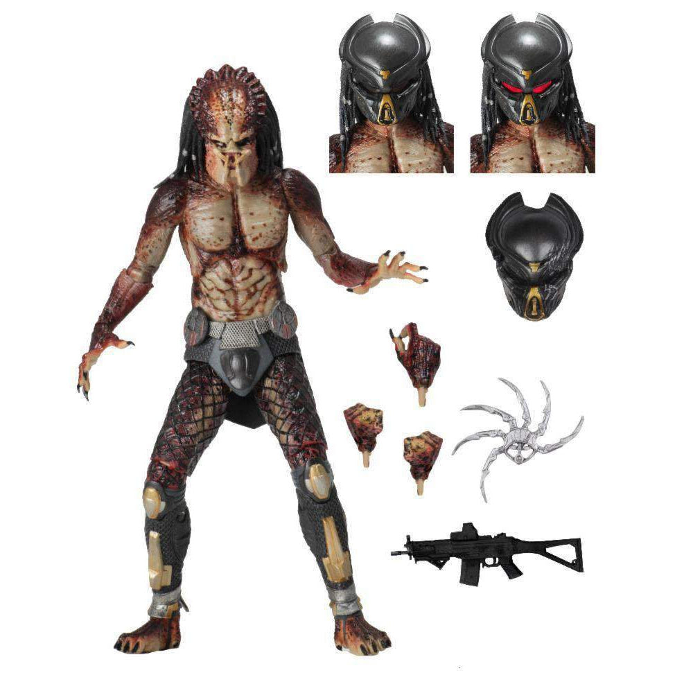 "Image of Predator (2018) - 7"" Scale Action Figure - Ultimate Fugitive (Lab Escape)"
