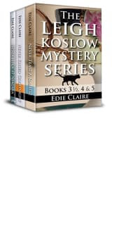 The Leigh Koslow Mystery Series: Books 3 1/2, 4 and 5 by Edie Claire