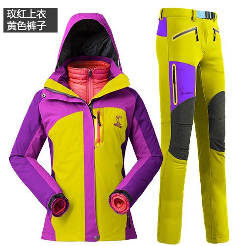 Комплект лыжные брюки и куртка