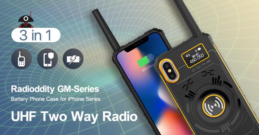 3-in-1 UHF Radio