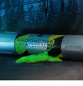 TMNT (1990 Movie) Mutagen Canister Prop Replica