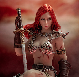 Red Sonja 1/12 Scale Figure