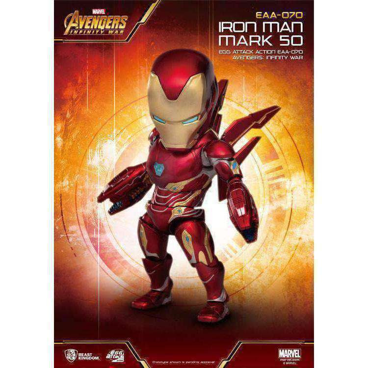 Image of Avengers: Infinity War Egg Attack Action EAA-070 Iron Man Mark L PX Previews Exclusive - NOVEMBER 2019