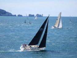 J/120 Nunatak sailing RORC Fastnet Race