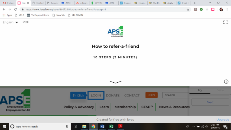 How to Refer a Friend Tutorial