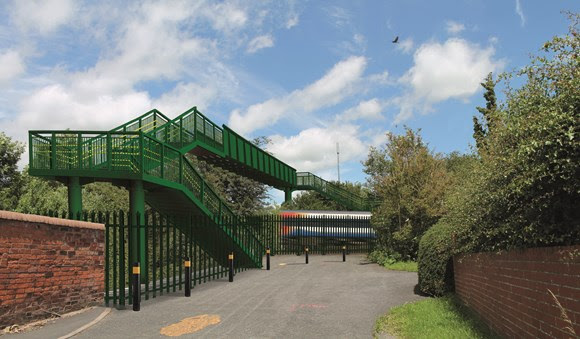 Project to build new footbridge at Leicestershire level crossing begins today