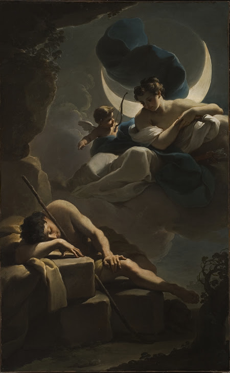 Image result for the goddess and the moon
