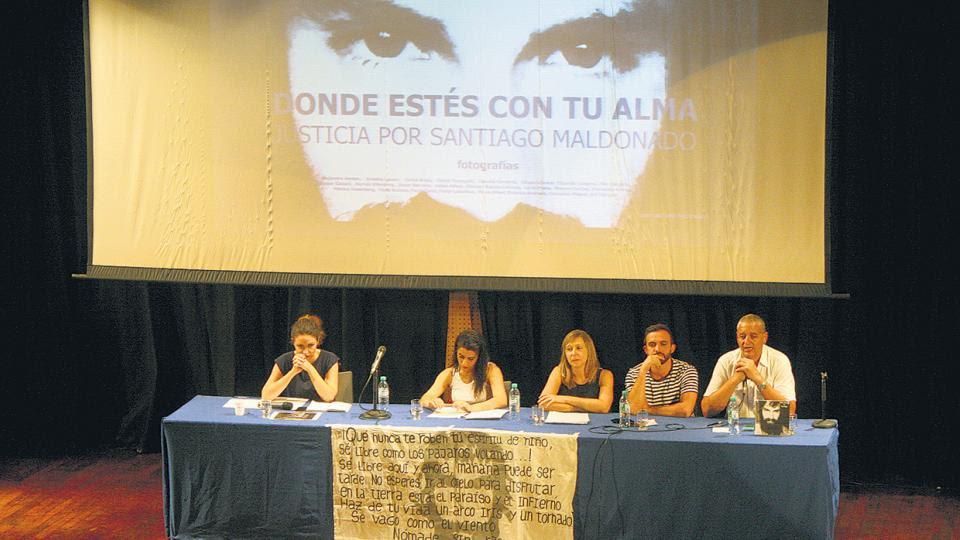 En la mesa de apertura participaron los diputados Pietragalla, Donda, Bregman y Grosso.