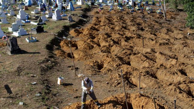 Mortes por Covid-19 explodem em 50 grandes cidades do país